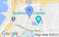 Map of Orlando FL